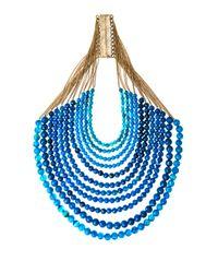 Rosantica | Blue Raissa Sunstone Necklace | Lyst