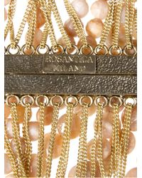Rosantica - Orange Chain and Bead Necklace - Lyst