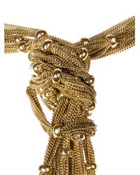Rosantica | Metallic Long Bead And Chain Necklace | Lyst