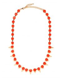 BaubleBar | Red Tang Cone Strand | Lyst