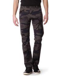Dockers Gray Alpha Khaki Camouflage Chinos for men