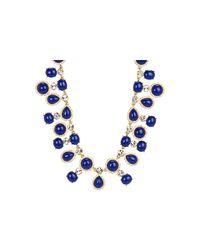kate spade new york - Blue Moonlit Way Collar Necklace - Lyst