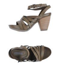 Vic Matié Green Sandals