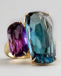 Marco Bicego | Purple Amethyst Topaz Ring | Lyst