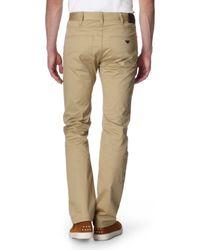 Armani Jeans Natural Gabardine Trousers for men