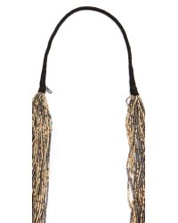 Chan Luu - Metallic Beaded Necklace - Lyst