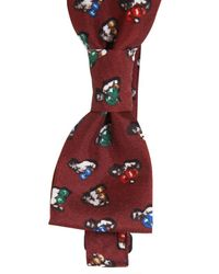 Dolce & Gabbana - Red Silk Box Bow Tie for Men - Lyst