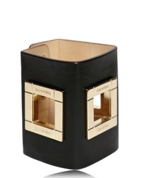 DSquared² - Metallic 85mm Leather and Brass Cuff Bracelet - Lyst