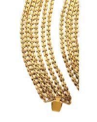 Erickson Beamon - Metallic Byzantium Bracelet - Lyst