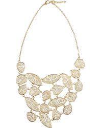 Isharya - Metallic 18karat Goldplated Filigree Necklace - Lyst