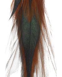 Jeeyun Ha Designs - Orange Diallo 14karat Gold Feather Earrings - Lyst