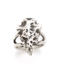 Pamela Love - Metallic Mini Arrowhead Ring - Lyst