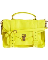 Proenza Schouler - Yellow Ps1 Medium Leather - Lyst