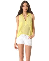 Rory Beca - Yellow Dive Slouch Pocket Top - Lyst