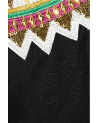 Sass & Bide | Black My Favourite Game Embroidered Silk-blend Jacket | Lyst