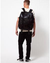 PUMA Black Tech Backpack for men