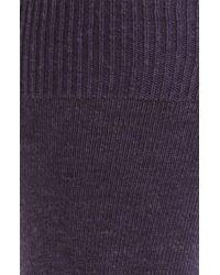 Calvin Klein | Purple Signature Socks for Men | Lyst