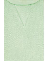 Marc Jacobs Green Knitted Satinjersey Sweater