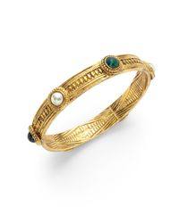 Ben-Amun - Metallic Byzantine Bangle - Lyst