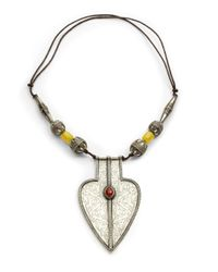 DANNIJO - Multicolor Rhaise Pendant Necklace - Lyst