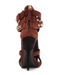 Giuseppe Zanotti - Brown Fringed Sandals - Lyst