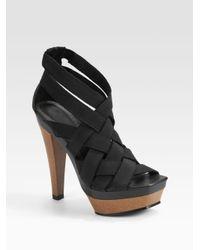 Joie | Black Maneater Sandal | Lyst