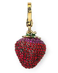 Juicy Couture - Red Strawberry Charm - Lyst