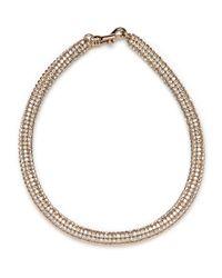 BaubleBar - Metallic Golden Shadow Bracelet - Lyst