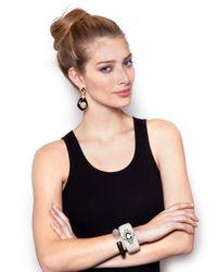 BaubleBar - Black Glamour Earrings - Lyst