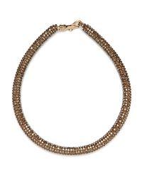 BaubleBar - Metallic Atelier Swarovski By Christopher Kane Crystal Bronze Bracelet - Lyst