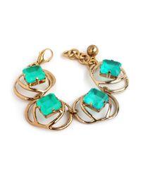 Lulu Frost | Althea Green Bracelet | Lyst