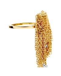 Solange Azagury-Partridge Metallic Fringe Ring