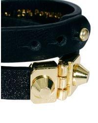 Whistles - Metallic Lana Glitter Cuff Bracelet - Lyst