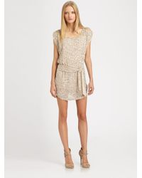 Haute Hippie | Gold Sequin Dress | Lyst