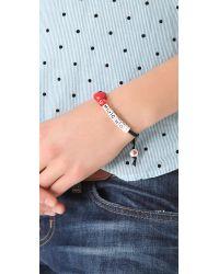 Venessa Arizaga Red Love You Mucho Bracelet