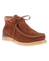 Visvim Brown Trekker Renofolk Ankle Boot for men