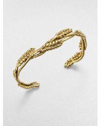 Aurelie Bidermann Metallic Wheat Bracelet