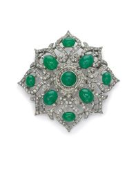 Ben-Amun - Green Burst Brooch - Lyst