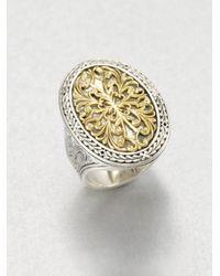 Konstantino - Metallic 18k Gold Sterling Silver Ring - Lyst