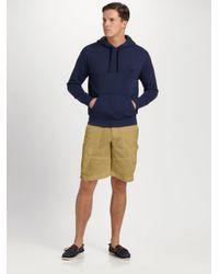 Polo Ralph Lauren | Blue Beach Fleece Pullover Hoodie for Men | Lyst