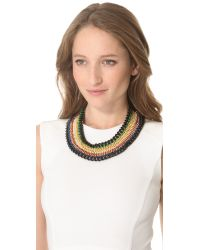 Venessa Arizaga - Black Mayan Riviera Necklace - Lyst