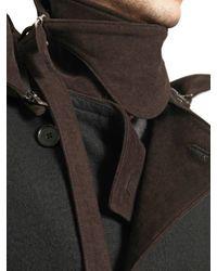 Ann Demeulemeester Green Cotton Cloth Moleskin Jacket for men