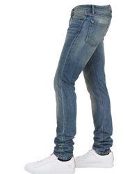 Burberry Brit Blue Skinny Fit Washed Denim Jeans for men
