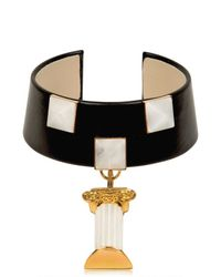 Delfina Delettrez | White Column Pendant Collar | Lyst