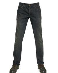 Dolce & Gabbana Black Washed Denim 14 Gold Jeans for men