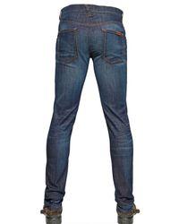 Dolce & Gabbana Blue Stretch Denim Jeans for men