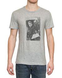 Dolce & Gabbana Gray James Dean Jersey T-shirt for men