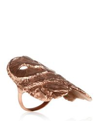 Dominique Lucas Pink Owl Ring