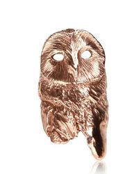 Dominique Lucas - Pink Owl Ring - Lyst