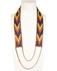 Fiona Paxton - Multicolor Nora Long Beaded Necklace - Lyst